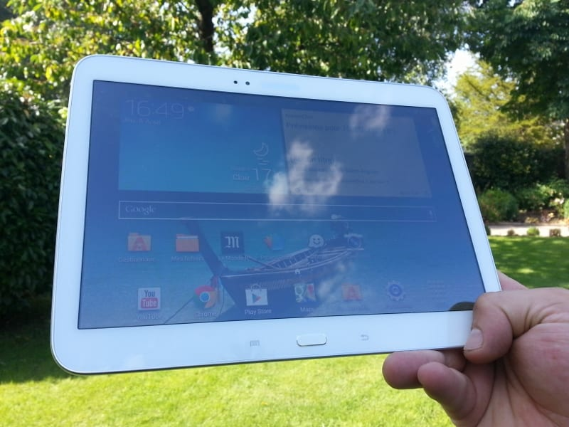 Test tablette Samsung Galaxy Tab 3 10.1