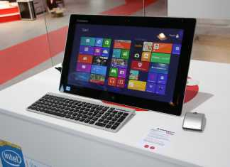 IFA 2013 : Lenovo Flex One, un All in One sous Windows 8 1