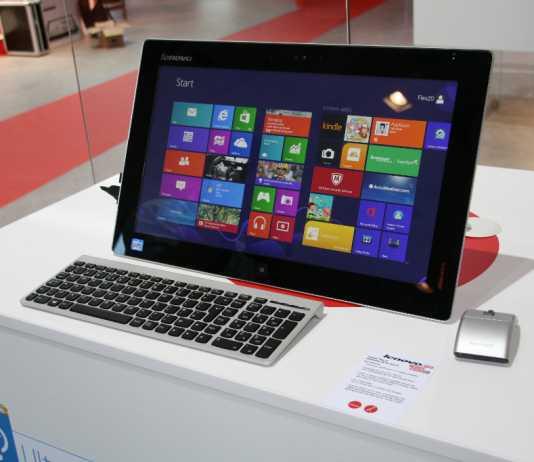IFA 2013 : Lenovo Flex One, un All in One sous Windows 8 1