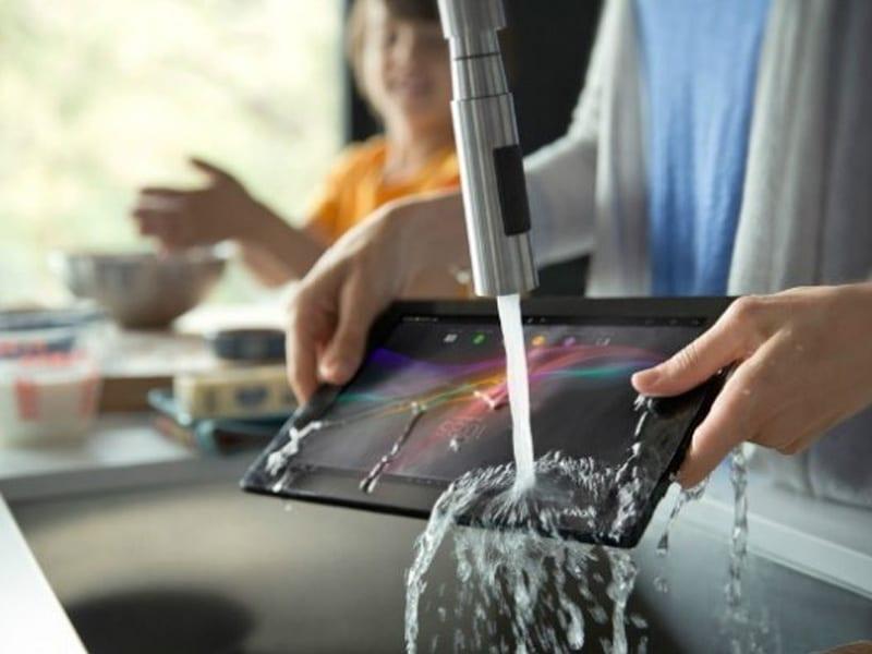 Sony va lancer une tablette Android dédiée à la cuisine, la Xperia Tablet Z kitchen edition