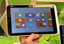 IFA 2013 : Prise en main de la Acer Iconia W3, une tablette de 8 pouces tournant sous Windows 8  8