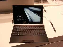 Sony VAIO Tap 11 : Prise en main de la tablette Hybride sous Windows 8  6