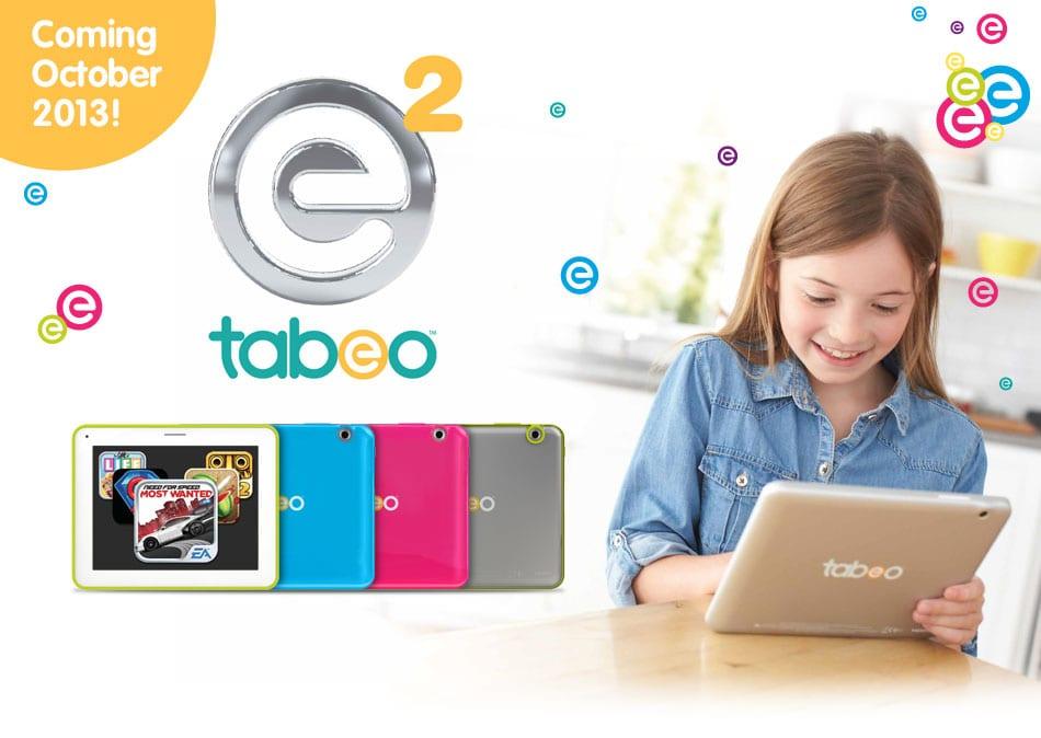 Toys R Us prévoit la sortie d'une nouvelle tablette pour enfant, la Tabeo e2 !
