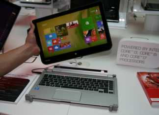 IFA 2013 : Prise en main du PC convertible Toshiba W30T sous Windows 8 6