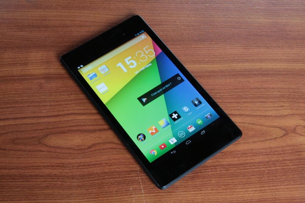 Test tablette Google Nexus 7 seconde génération (2013)