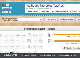ComparatifTablette.com : iLoveTablette lance la V2, une nouvelle façon de comparer les tablettes ! 9
