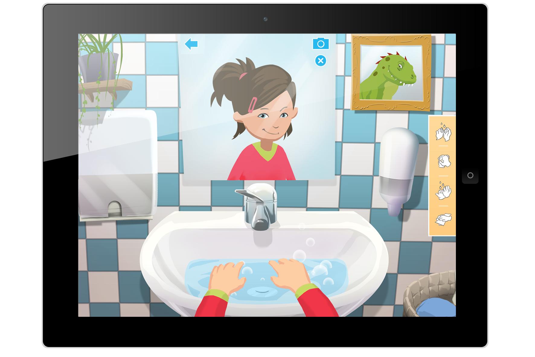 Journ e mondiale du lavage des mains sortie d 39 une - Protocole de lavage des mains en cuisine ...
