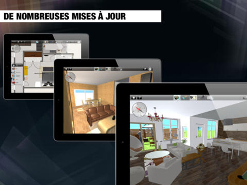 R organisez votre int rieur l 39 aide de home design 3d sur for Home design ipad