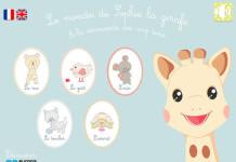[Gratuit temporairement] Faites découvrir les 5 sens à vos enfants avec Sophie la girafe sur iPad 1