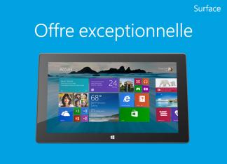 Promo Tablette Surface RT 64 Go & Touch Cover noir : prix exceptionnel de 359€ ! Profitez-en vite