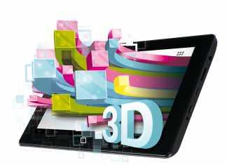 SlidePad 3D : Memup annonce une tablette tactile 3D sans lunettes !