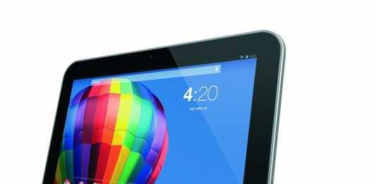 Test tablette Toshiba eXcite Pure  1