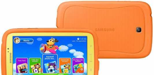 Samsung Galaxy Tab 3 Kids : la tablette pour les enfants disponible en France ! 2