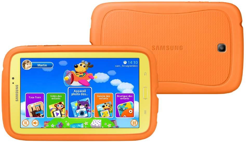 samsung galaxy tab 3 kids la tablette pour les enfants disponible en france. Black Bedroom Furniture Sets. Home Design Ideas