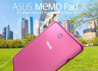 La Asus Memo Pad 8 bientôt disponible : caractéristiques, prix, photos et vidéo 5