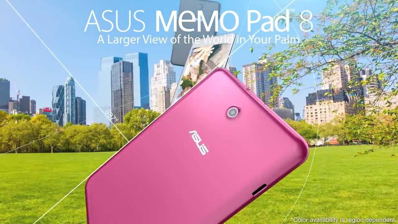La Asus Memo Pad 8 bientôt disponible : caractéristiques, prix, photos et vidéo