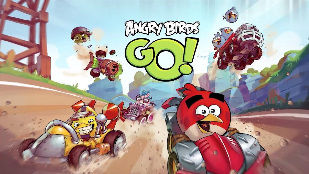 Rovio lance Angry Birds Go! un jeu de karting