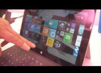 Surface 2 : prise en main vidéo de la nouvelle tablette Microsoft