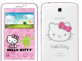 Une tablette Samsung Galaxy Tab 3 7.0 Hello Kitty en approche !