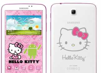Une tablette Samsung Galaxy Tab 3 7.0 Hello Kitty en approche !
