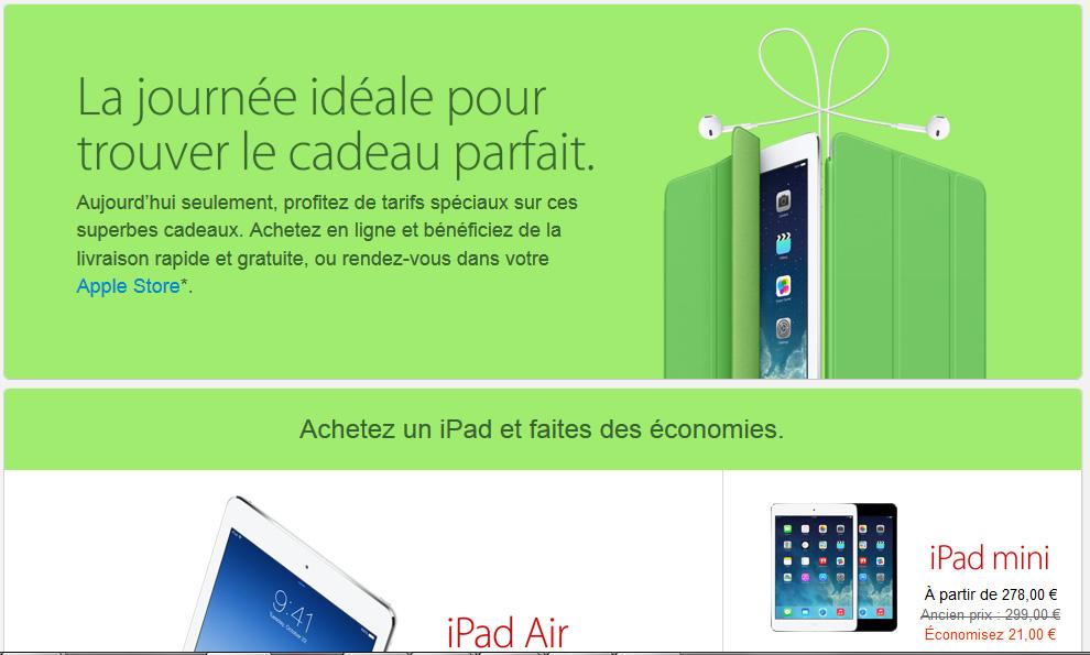 Black Friday Apple Store : il y a bien des réductions sur les iPad !