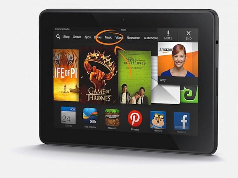 Amazon lance la mise à jour de ses tablettes Kindle Fire HD et Fire HDX