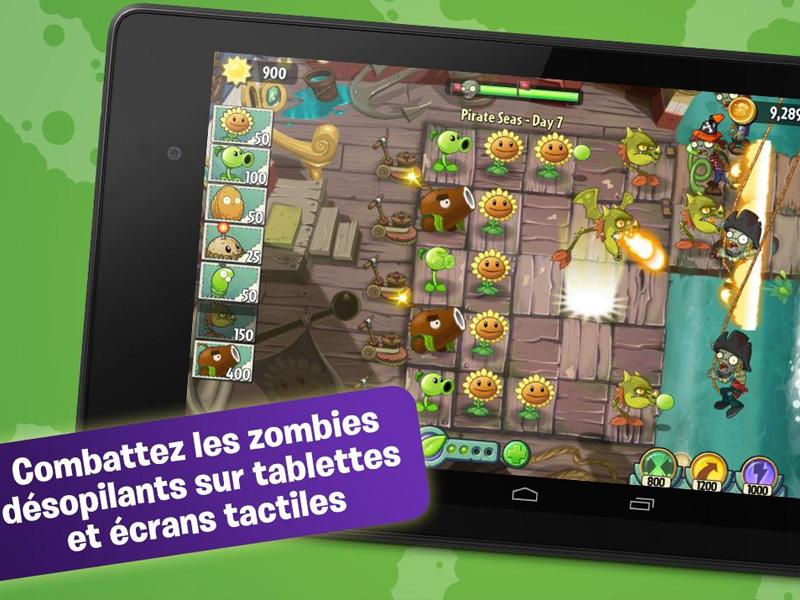 Prot gez les plantes des zombies dans plants vs zombies for Plante vs zombie 2