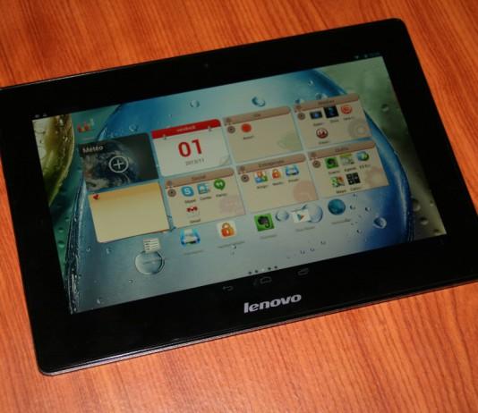Test tablette Lenovo IdeaTab S6000 14