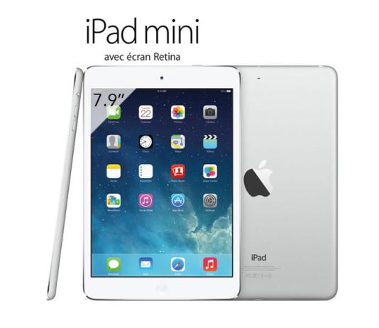 L'iPad mini retina disponible à l'achat en France ! 1