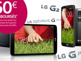 Promo tablette LG G Pad 8.3 : remboursement de 50€ jusqu'à la fin de l'année ! 2