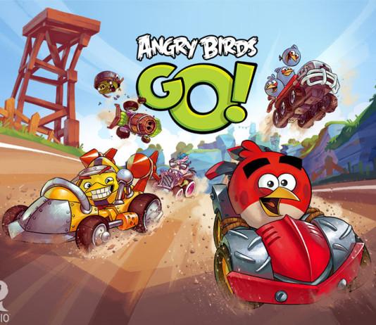Rovio lance Angry Birds Go !  1