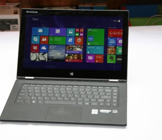 Test du Lenovo IdeaTab Yoga 2 Pro 4