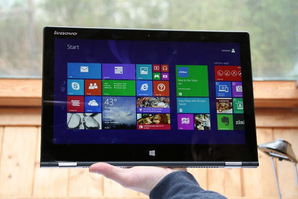 Lenovo Yoga 3 Pro : un rival potentiel pour la Surface Pro 3 ?