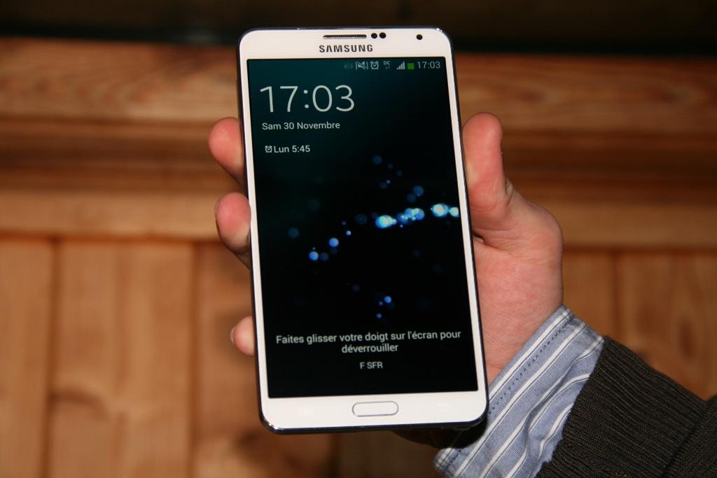 Test de la phablette Samsung Galaxy Note 3 (SM-N9005)