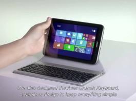Crunch Cover : Acer dévoile sa housse de protection pour tablette A3-A10 12