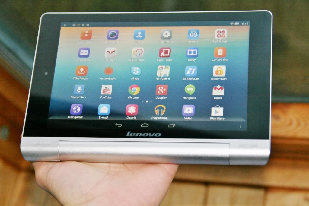 Test Lenovo Yoga Tablet 8