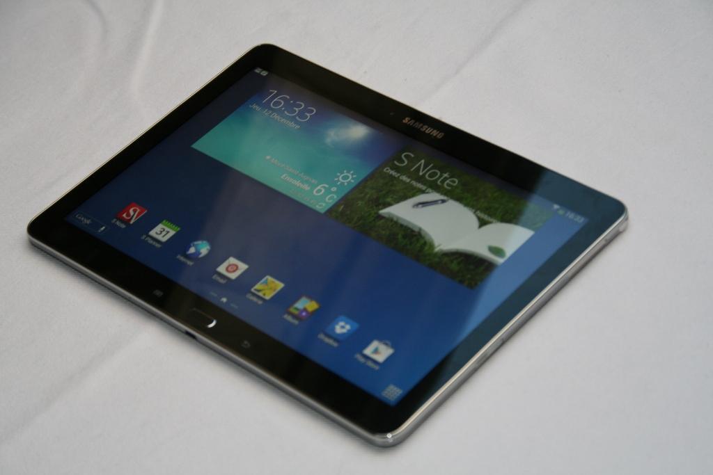Test de la tablette Samsung Galaxy Note 10.1 Edition 2014