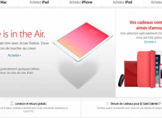 Apple : pour la Saint Valentin, Love is in the (iPad) Air ! 1