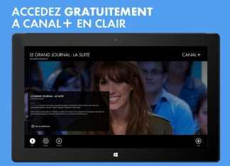 L'application myCANAL est disponible sur Windows 8 5