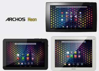 Archos lance une nouvelle série low-cost, les tablettes Neon 90, 97 et 101 13