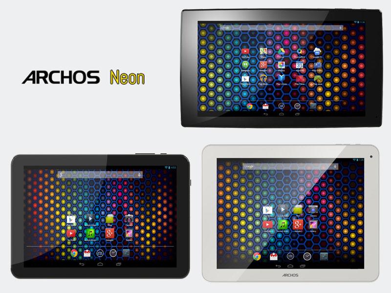 Archos lance une nouvelle série low-cost, les tablettes Neon 90, 97 et 101