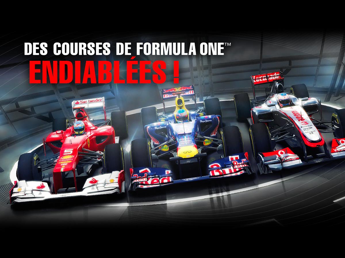 Pilotez une formule 1 avec F1™ Challenge sur tablette