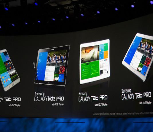 Les nouvelles tablettes Samsung Tab 3 Lite, Note Pro et Tab Pro en pré-commande !