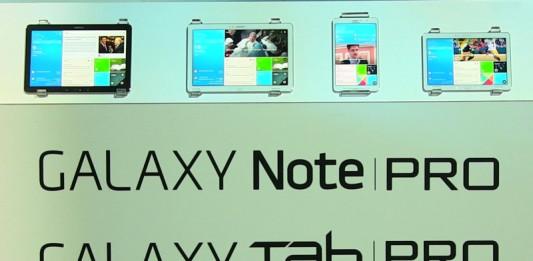 CES 2014 : Samsung lance sa nouvelle gamme de tablette Galaxy Tab Pro et Galaxy Note Pro 1