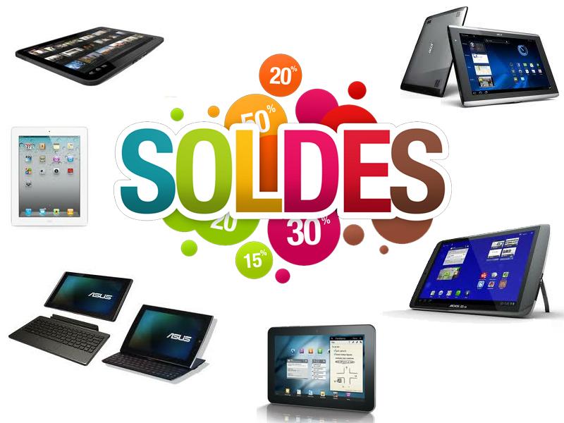 Soldes tablettes Hiver 2014 : toutes les offres et promotions