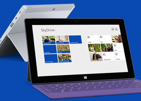 Tablette surface skydrive 200go - Office tablette android gratuit ...