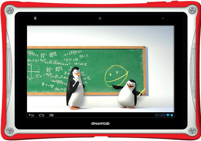 DreamTab : le studio DreamWorks annonce une tablette enfant !