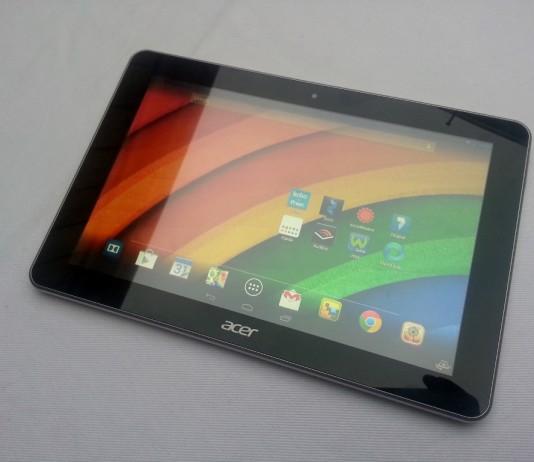 Test de la tablette Acer Iconia A3-A10 16
