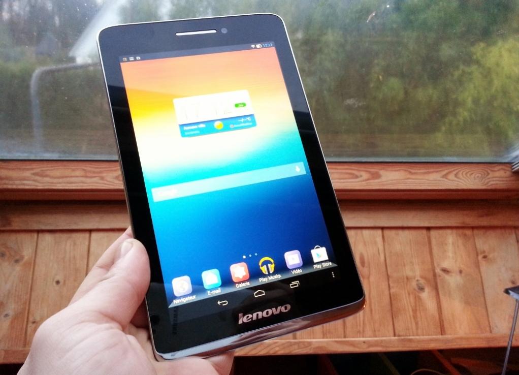 Test de la tablette Lenovo S5000