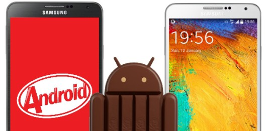 Samsung lance la mise à jour Android 4.4.2 KitKat pour sa Galaxy Note 3
